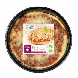PIZZA 3 FROMAGES SANS GLUTEN