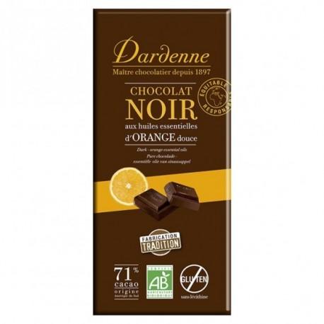 CHOCOLAT NOIR A L'ORANGE