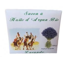 SAVON A L'HUILE D'ARGAN & LAVANDE