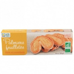 BISCUITS PALMIERS FEUILLE 100G