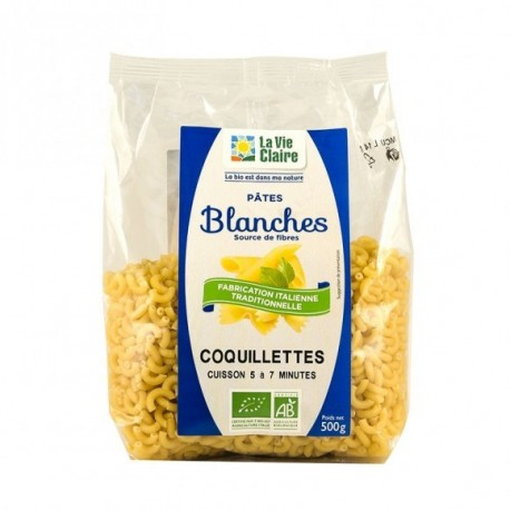 COQUILLETTES BLANCHES