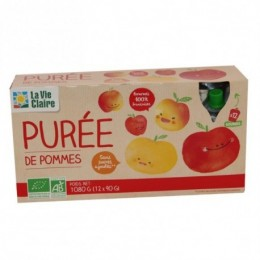 PUREE POMME GOURDE X12