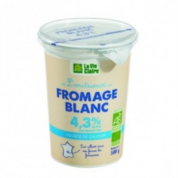 FROMAGE BLC LISSE 4.3 %MG 500G