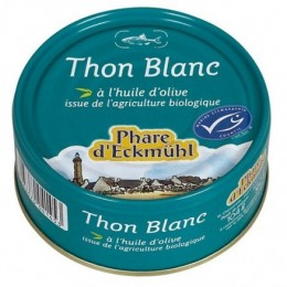 THON BLANC HUILE D'OLIVE 80 g