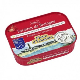 SARDINES SC TOMATE OLIVE 135 G