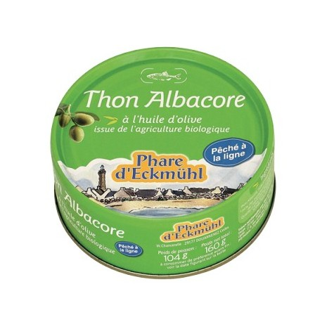 THON ALBACORE HUILE D'OLIVE