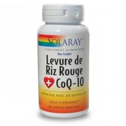 LEVURE DE RIZ ROUGE + COQ-10 + OMEGA 3