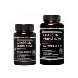 CHARBON VEGETAL ACTIVE - VEGAN X120