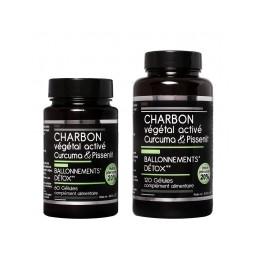 CHARBON VEGETAL ACTIVE DETOX X60