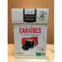 CAPSULE CAFE CARAIBES X 10