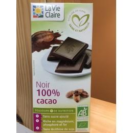 CHOCOLAT 100% CACAO