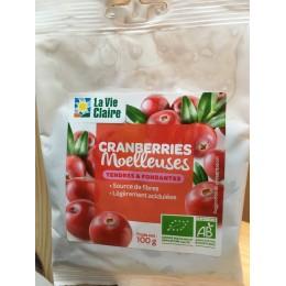 CRANBERRIES MOELLEUSES 100G