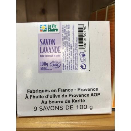 SAVON LAVANDE BIO 100 G