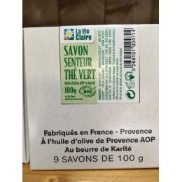 SAVON THE VERT BIO 100 G
