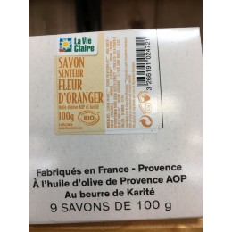 SAVON FLEUR ORANGER BIO 100 G