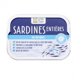 SARDINES ENTIERES NATUREL 115G