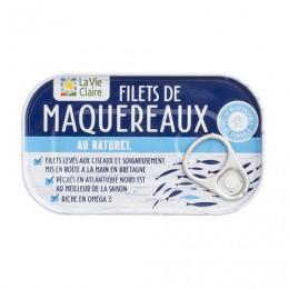 FILETS MAQUEREAUX NATUREL 113G