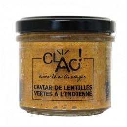 CAVIAR LENTILLES A L'INDIENNE