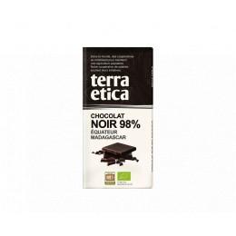 TABLETTE CHOC NOIR 98% EQUATEUR