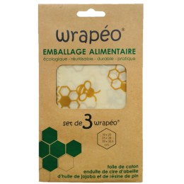 EMBALLAGE WRAPEO 3 FEUILLES