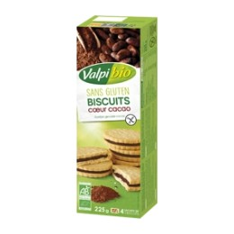 BISCUITS FOURRES CACAO