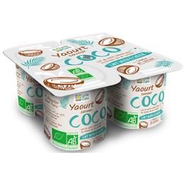 YAOURT SAVEUR NOIX DE COCO X4