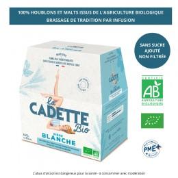 BIERE BLANCHE 6X25CL CADETTE