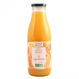JUS 4 AGRUMES 75CL