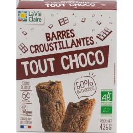 BARRE CROUSTILLANTE TOUT CHOCO