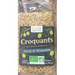 CROQUANTS OLIVE ET ROMARIN