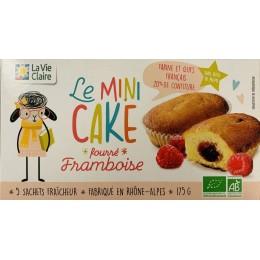 MINI CAKE BIO FOURRE FRAMBOISE