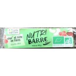 BARRE CRUE FRUITS SECS