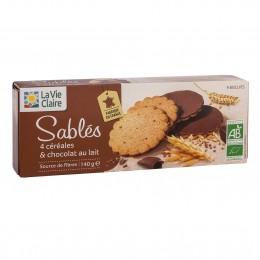 SABLES 4 CEREALES CHOCOLAT AU LAIT